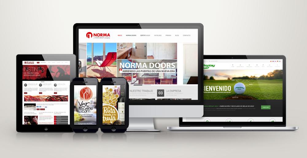 Diseño web adaptado a moviles en Soria