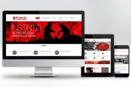 Página web Grupo de Incendios