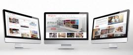 Diseño de la página web de Lola Glamour Mobiliario