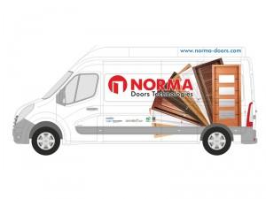 SPK Comunicación servicios de diseño gráfico en vehiculos comerciales
