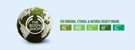 the body shop, original, ethical and natural brand