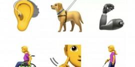 Los nuevos emojis para personas con discapacidad