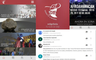 Aplicación Móvil Turismo Ayuntamiento de Soria #eligeSoria