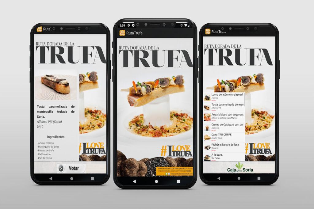 Aplicación IOS Android para Caja Rural de Soria