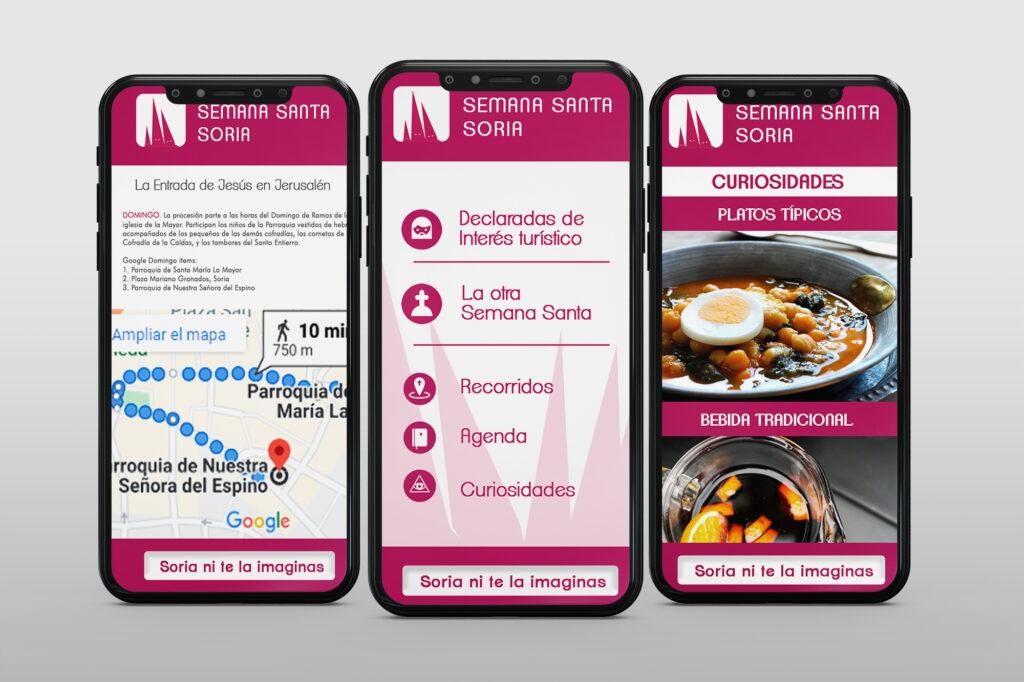 Diseño de aplicaciones móviles en Soria, Madrid y Salamanca