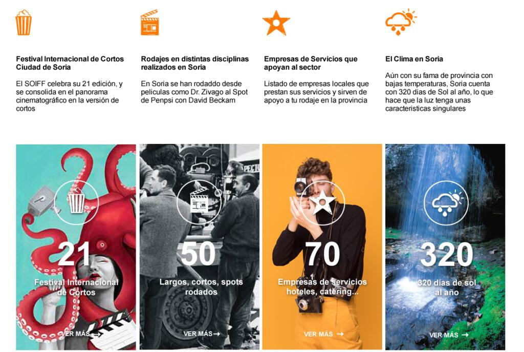Diseño web en Soria, Madrid y Salamanca. SPK Comunicacion.
