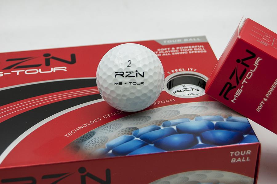 Diseño gráfico elaborado para la empresa RZN Golf