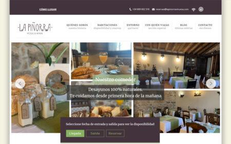 Diseño y programación web de La Piñorra Vinuesa