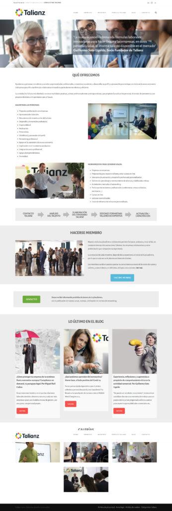 Diseño web para empresas en Madrid