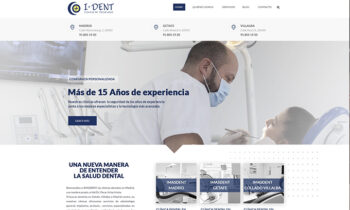 Web clínica dental Imasdent