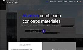 Web Aluminios Cabrerizo