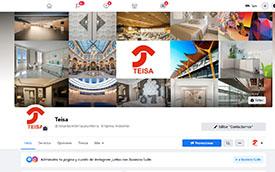 Redes Sociales Teisa Ebanistería Industrial