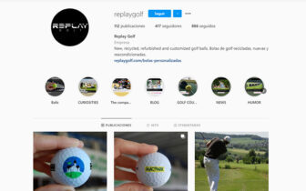 Redes Sociales Replay Golf