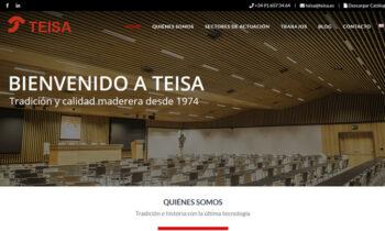 TEISA Ebanisteria Industrial – SEO Internacional