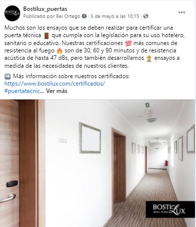 Facebook Bostilux
