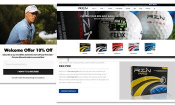 SEO/SEM Internacional para RZN Golf
