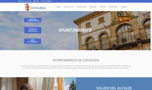 Web Ayuntamiento de Covaleda