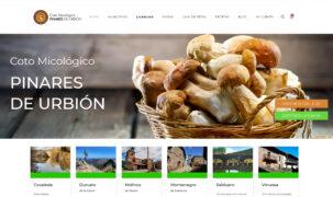 Web Coto Micológico Pinares de Urbión
